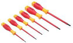 1000v Insulated Flat VDE Slotted Screwdriver