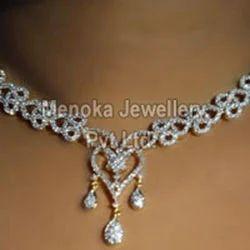 Antique Diamond Necklaces ह र क