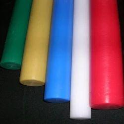 Green Polypropylene Rods