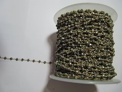 Pyrite Bead Chain
