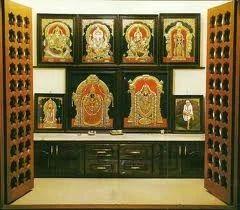 Wooden Pooja Room Furniture