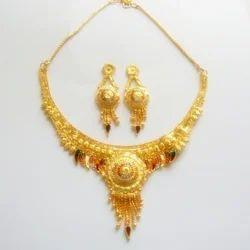 gold plated necklace set in bengaluru karnataka manufacturers
