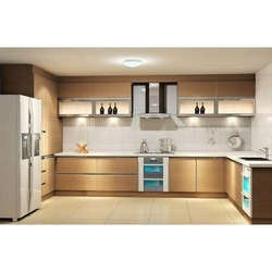 Attractive Kitchen Design C Shape C Shape Modular Kitchen | G. J. Krishnaa Carpenter |  Service Part 2