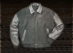 Grey Baseball Jacket