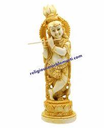 God Marble Krishna Murti
