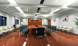 Conference Room Wooden Flooring