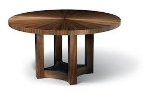 Round Tea Table