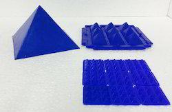 Multier  Plastic Set Yantra Aventurine Pyramid for Stabi
