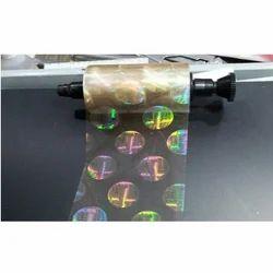 pvc card printer hologram globe
