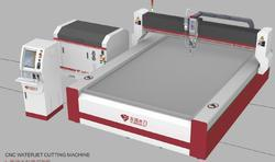 Heavy Duty CNC Waterjet Cutting Machine at Rs 550000 /number