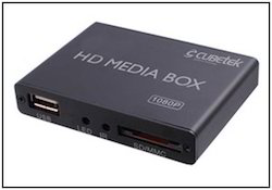 HDD Media Player Box