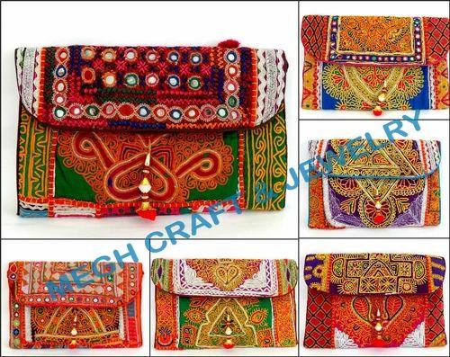 86bc52b431 ... Embroidered Bags. Mirror Work Banjara Handbag