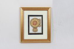 Marble Painting Jewellery Double Frame