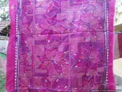 Pure Kantha Silk Stole