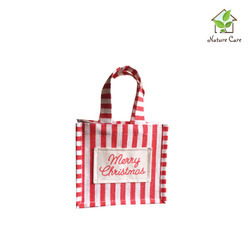 Jute Christmas Gift Bags