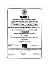 NABL for Chemical Testing