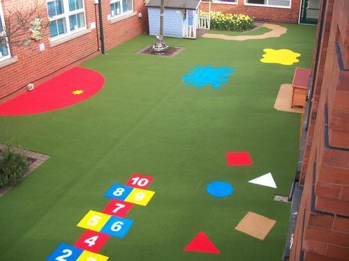 Children Play Area Flooring Soft Fall Surface Flooring - Soft flooring for children's play area