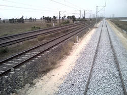 Laying And Linking Of Railway Track