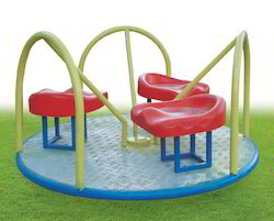 Platform Merry Go Round with Seat