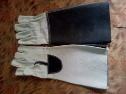 Leather Long Hand Gloves