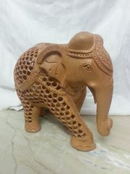 Wooden Handcrafted Jali Elephant