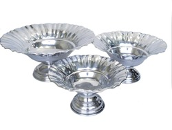 Aluminum Footed Bowl