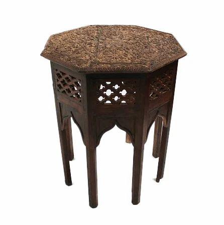 Antique carved side table living room plastic furniture - Antique side tables for living room ...