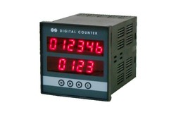 Duel Display Length Line Speed Counters