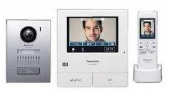 Digital White Panasonic Video Door Phone, For Office