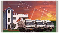 Courier, Ocean And Air Freight Courier Service