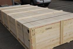 Pine Wood Box for Shipping