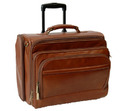 Brown Manufacturer Of Real Leather Trolley Bags