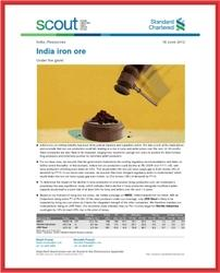 Research Report - India Iron Ore