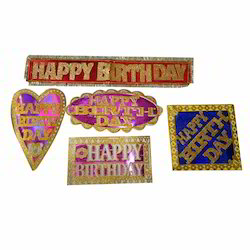Fancy Birthday Paper Banner