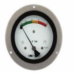 Baumer Differential Pressure Gauge Piston Operated