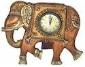 Brown Analog Table Clock