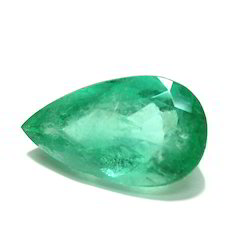 Cheap Pear Cut Emerald Stone