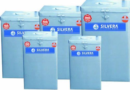 Square Grain Storage Container  sc 1 st  IndiaMART & Square Grain Storage Container | Silvera Kitchenware | Manufacturer ...