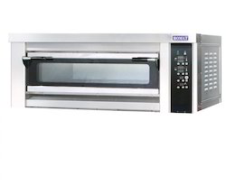 Single Deck Oven Electric / Gas Operated