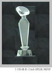 11 Inch Crystal Trophy