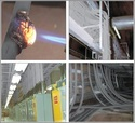 Cable Fire Suppression Coating