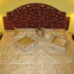 Peacock Bed Cover