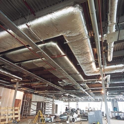 Ac Duct Insulation In Nashik Unity Gold Apartment By Aqsa