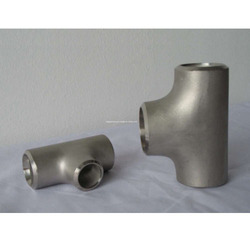 SMO 254 Fittings UNS 31254 for Gas Pipe, Size: 3/4 and 1 inch