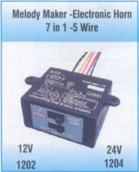 melody maker electronic horn 7 in 1 5 wire 250x250 melody maker manufacturer from coimbatore roots melody maker wiring diagram at readyjetset.co