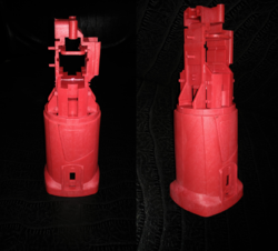 ACME Red Plastics Moulding Parts, Application : Injection Mould