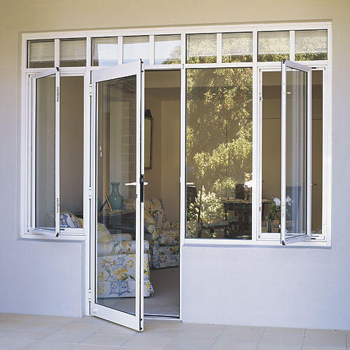 aluminum door windows