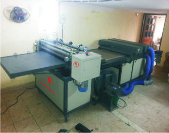 USA Online Coater And UV Curing System