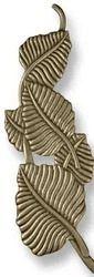 Design Leaf Brass Handle