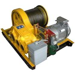 Electric Winch In Kolkata West Bengal Electric Winch